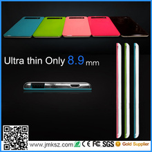 Ultra thin 4300mAh universal external portable power bank with LED charging display