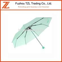 Plegable parasol paraguas con logo