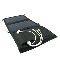 7W foldable solar charging bag with High efficiency solar panel