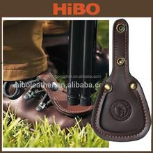 Handmade Leather Shotgun Trapshooting-Skeet Barrel Rest Toe Pad
