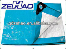 110gsm blue and white color tarpaulin&pe laminated sheets for cover&agricultural tarpaulin