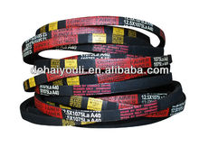rubber three v-belt