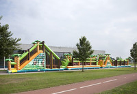 Modern latest adult giant inflatable obstacle course