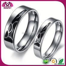 Fashion Magnetic Jewelry Men'S Sterling Silver Rings