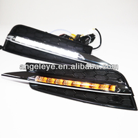 Cruze 9pcs LED Fog Lamp LED Fog Daytime Running Light with Turn lights 2009-2012 year V4