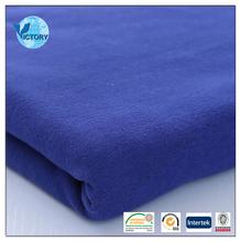 100% Organic Cotton Plain Fleece Fabric for Garment