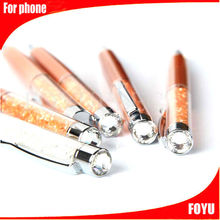 beautiful design stylus pen for smartphone stylus touch pen bling touch pen