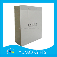 custom made carton board shopping paper bag, paper bag for charcoal, trendy gift packing bags for apparel