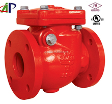 """2.5"""" US STANDARD UL FM APPROVED FLANGED END SWING CHECK VALVE"""
