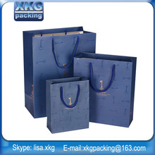 Trade Assurance Supplier Custom colorful art paper package gift bag / gift shopping bag with handles