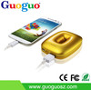 Guoguo donut 4400mah power bank fast charging portable phone charger minions for iphone 6