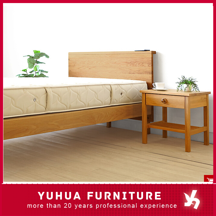 Wood Bedroom Furniture Semi Double Solid Oak Wood Bed Buy Bedroom