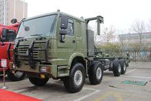 Sinotruk howo 8x8 all wheel drive vehicles