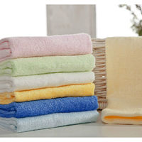 High Quality Green Natural Bamboo Products Wholesale Bamboo Cotton Towel Bath Towel Set Order From 50 Pieces