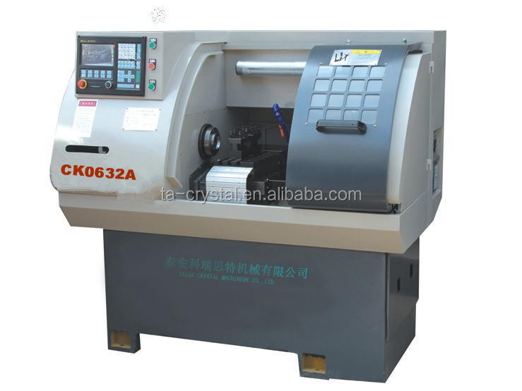 china micro cnc lathe machine CK0632A