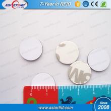 Anti-Metal Small NFC Tag 3M Glue NTAG213 13MM