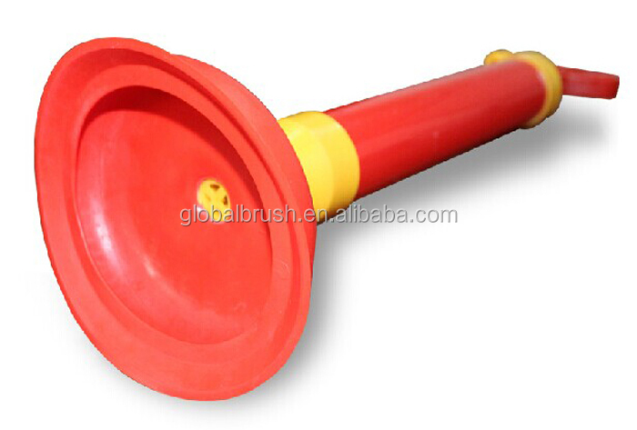 Hq Bathroom Vacuum Red Toilet Plunger Tool Hand Buy Toilet - Bathroom cleaning materials