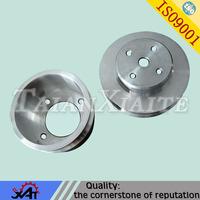 customized belt wheel aluminum auto pulley