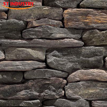 wall cladding artificial stone fence for exterior and interior wall