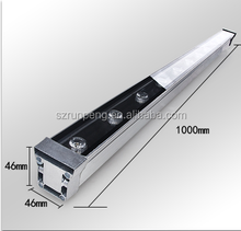 sign LED flood Light Aluminum Extruded trough/frame/support/stand/cover/housing Half-finished
