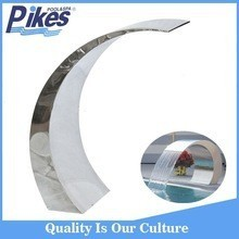 Wholesale price Stainless steel swimming pool water fall