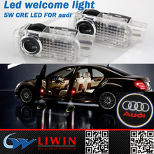 LW factory Led led car door logo light wholesaler for car SUV car logos with brand names