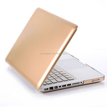 Metallic Gold Front and Bottom Guard Cover For Macbook Air 11 13'' Pro 13 15 ''
