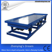 hollow/solid bricks/pavers/tiles/cement china three-dimensional vibration table