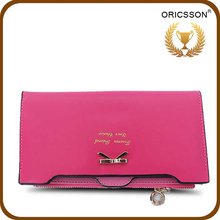 NO MOQ Colorful Leather Purse For Young Ladies