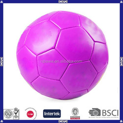free sample customer machine stitched street soccer ball