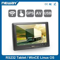 7 inch 400cd/m2 Resistive touch panel widescreen industrial WIFI tablet pc