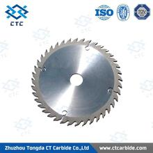 Big Promotion Activity tungsten carbide negative hook saw blades for non-ferrous metals cutting
