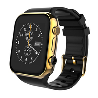 Ultra Slim Android Smart Phone 3G CDMA Cell Phone Watch Android 4.4 Smart Watch Phone With Google PlaY