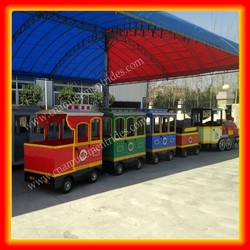 IN STOCK battery train ride on track outdoor Zhengzhou games