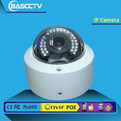 H. 265 HD onvif support CCTV outdoor & indoor Varifocal zoom and focus IP camera Dome