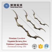 Titanium custom mathew compound bow archery cast forge factory