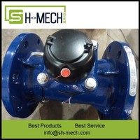 DN150 6inch ductile iron agriculture removable water meter class B