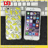 Novel Cute Cartoon Moving 3D Eyes Cat French fries banana Popcorn Soft TPU Ultra-thin Case For iphone 5 5s 6 6s 6 6s Plus