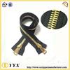 heavy duty tent zippers for metal zipper