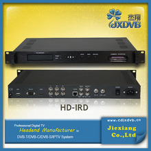 Cable Making Equipment HD Integrated Receiver Decoder(DVB-C/T/S/S2)