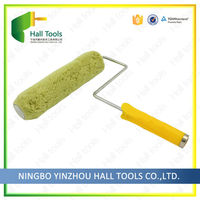 Acrylic Paint Roller With A Metal End Cap Waterproof Interior Wall Paint