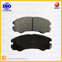 carbon fiber Disc brake pads no noise manufacture auto spare parts