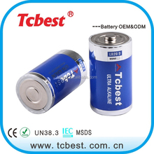 Super Alkaline dry cell battery LR20 dry Battery 1.5v battery lr20