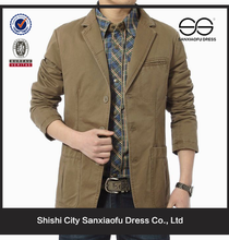 Lattest Mens Summer Cotton Coat, Custom Long Coat Trench, Wholesale Pea Coat For Men