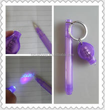 Best Mini Secret invisible Pen with blister card packing made in China&UV marker pen with uv light and new style