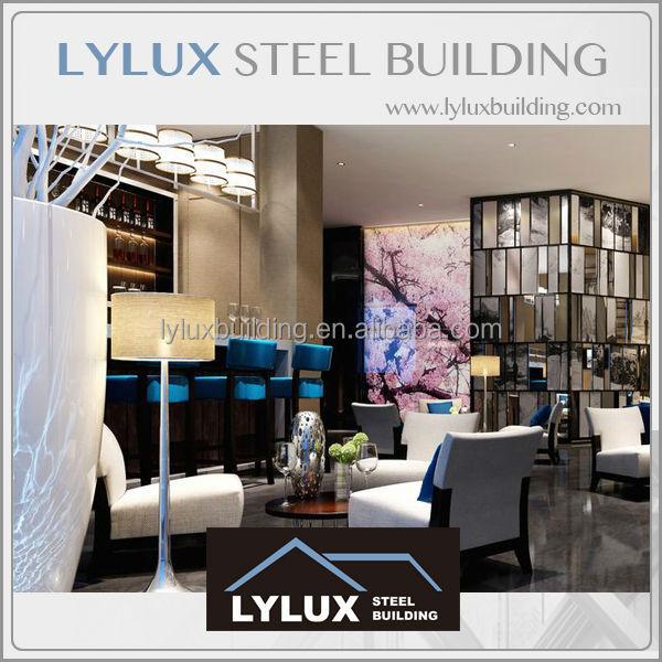 Prefab sterren hotel interieur lounge bar 3d rendering plan architectuur design product id - Kantoor modulaire interieur ...