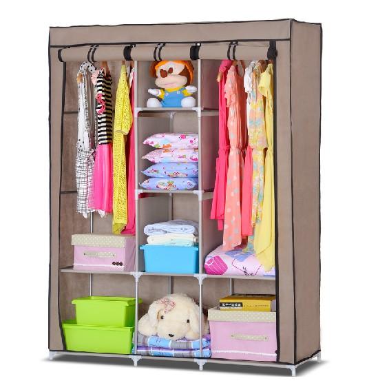 modular de acero inoxidable armario textil de ropa de madera armario ...