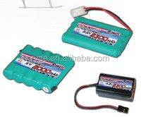 NiMH Battery pack for RC airplane and helicopter