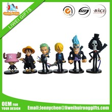 japanese action figures/silicone action figures/anime figure