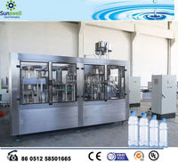 Water Processing Machine Combined With Water Filling Machine